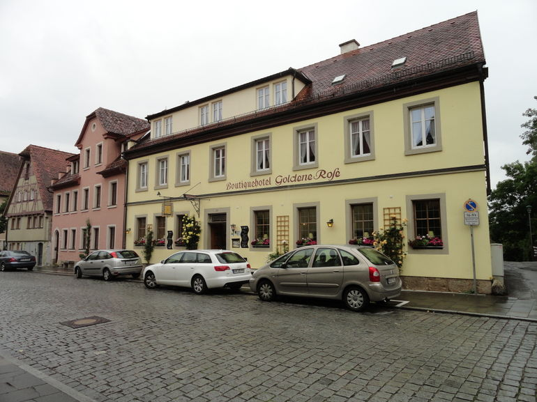 Hotel Goldene Rose - Frankfurt