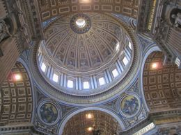 Under the dome in St Peter's basilica , Per K - April 2012