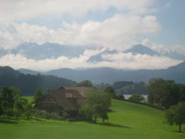 On the way to Luzern , Reba A - July 2012