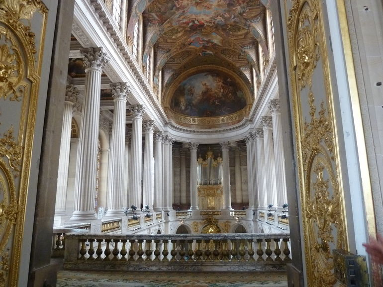 Inside the Palace of Versailles - Paris