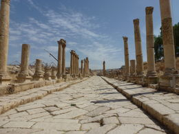 Incredible preserved Roman city of Jerash, Kat - October 2012
