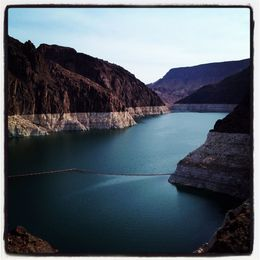Lake Mead at the Dam , david h - July 2013