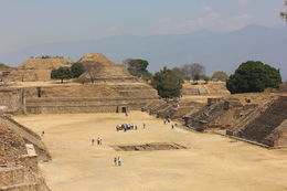 View from on top of the main pyramid., Bandit - November 2013