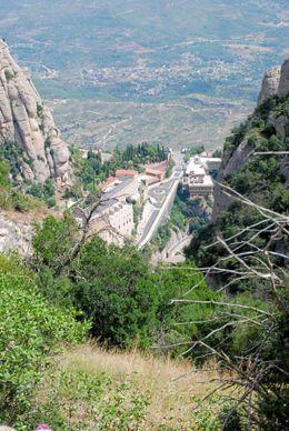 Monastery in Montserrat., Stuart R - August 2008