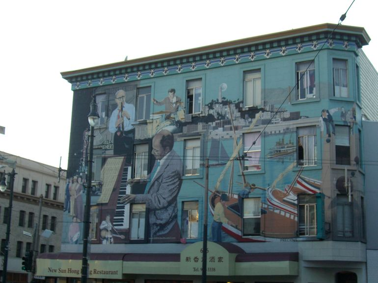 North Beach mural, San Francisco - San Francisco