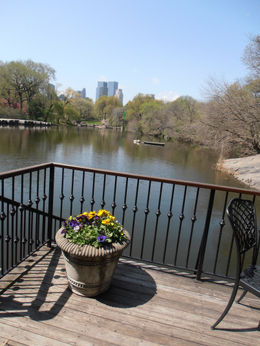 LUNCH STOP BOATHOUSE IN CENTRAL PARK AND WHAT A VIEW , SANDRA W - May 2011