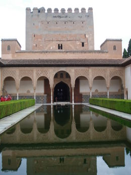 Water is at the center of most open spaces within the palace. , David F - August 2011