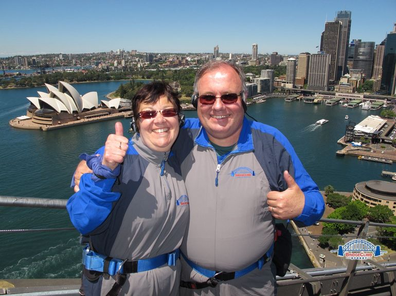 Sydney Harbour bridge climb - Sydney