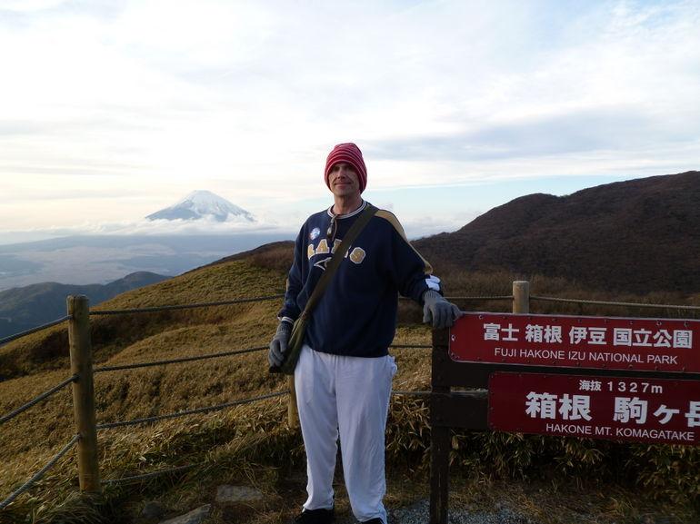 top of hill near Hakone - Tokyo