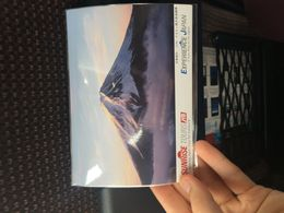the only mount fuji we saw, was this post card they gave us , Sebastian G - April 2016