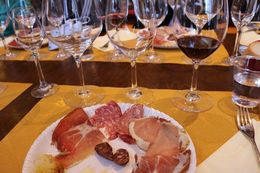 this was the first wine tasting of the trip coupled with that delicious meat and cheese , Jason K - October 2015