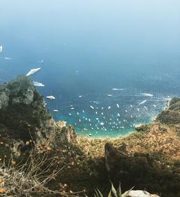 view from ana capri , Livia M - August 2017