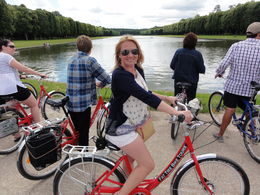 This is me on a fat tire bike at the end of the canal. , Laura B - July 2016