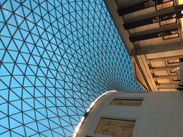 British Museum Entrance , Tony - November 2015