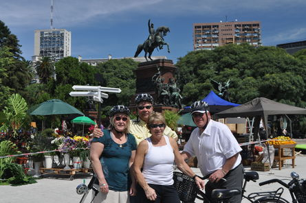 Buenos Aires Bike Tour Recoleta And Palermo Districts 2017