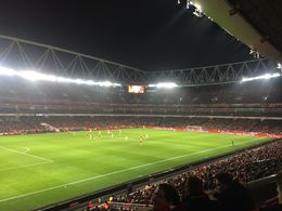 View of the pitch - January 2015