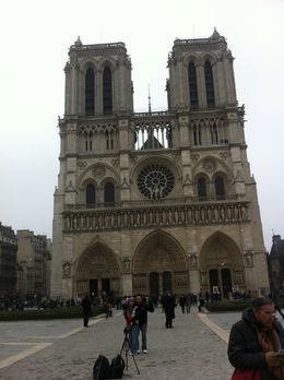 Notre Dame , very popular. , I G - May 2011