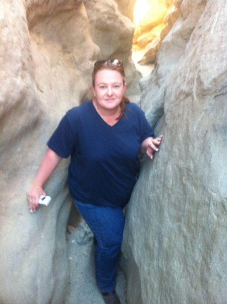 In the San Andreas Fault - Palm Springs