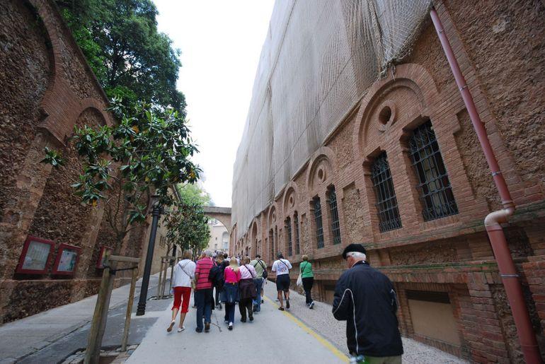 Montserrat Pathway to Basilica - Barcelona