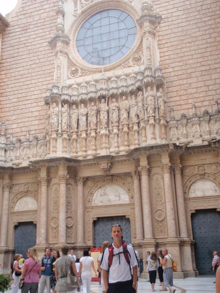 Outside the Monastery - Barcelona
