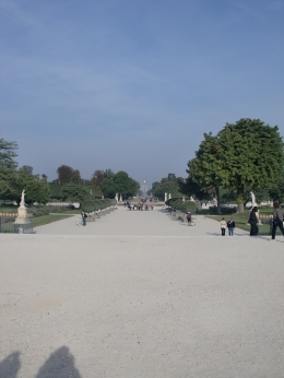Jardin de Tuileries, Tracey P - September 2010