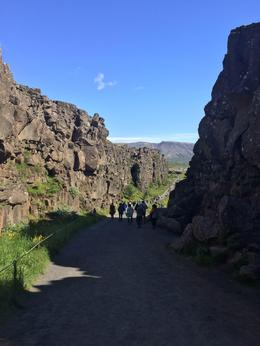 Pingvellir - also used in Game of Thrones as road to the Eyre , Julie F - August 2017