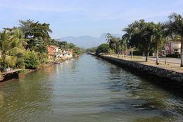 River that flows through Paraty, Bandit - July 2014