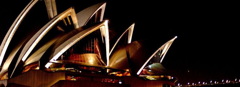 Sails on the harbour - Sydney