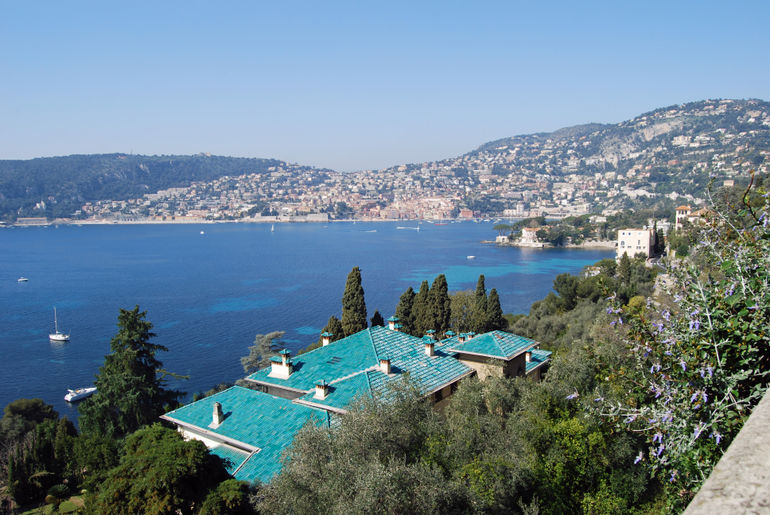 Terrace view at Villa Ephrussi De Rothschild - Cap Ferrat -