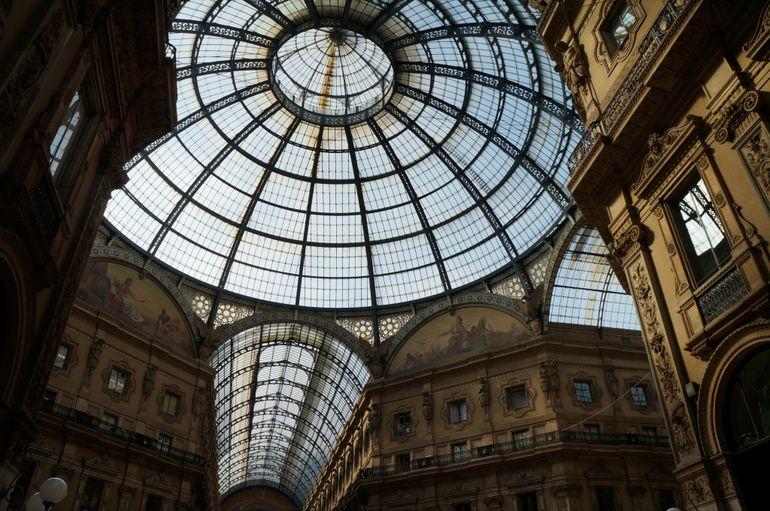 The Galleria Vittorio Emanuele II - Milan