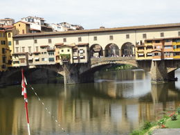 This is where our our ended! Then, we were free to check out the Ponte Vecchio bridge with so many great shops! , Terry P - July 2016