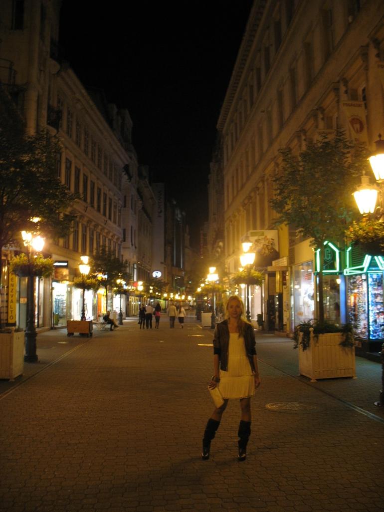 Vaci utca - Budapest