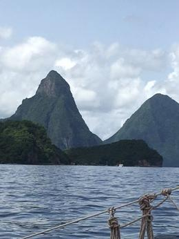 Picture of the Pitons , Annie from Texas - July 2017
