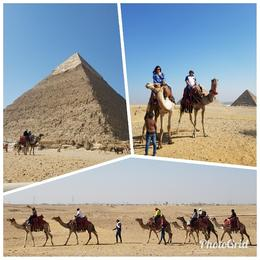 Amazing day we will Never forget exploring the Great Pyramids of Egypt! , CATARINO C - November 2017