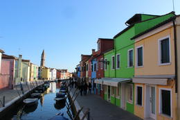 Meandering through the Island of Burano. , Crystal Marie W - January 2018