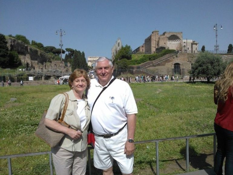 American tourists - Rome