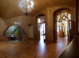 This is Gaudi's masterpiece from the inside. The remaining 9 rooms are exactly the same. Not worth 16 euro. Not even 13 euro with Barcelona Card's discount., Andrey Y - June 2008