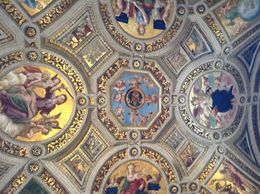 One of the ceilings in the Vatican. , Sharon M - May 2015