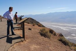 Taking in the views of Death Valley., Jeff - May 2008