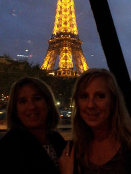 Beautiful views as we cruise the Seine River whilst having dinner. , Astrid B - October 2013