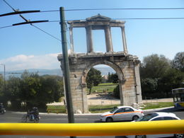 from the bus in Athens , Dianne A - April 2012