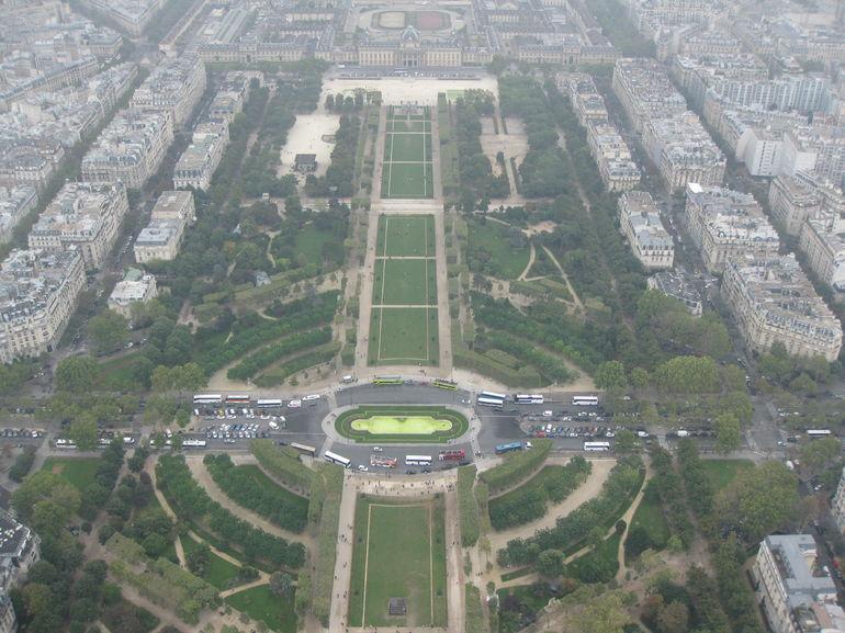 Eiffeltornet. - Paris