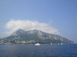 Capri from the boat, Gabriela B - August 2010