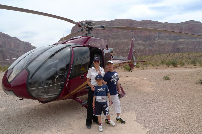 Grand Canyon Helicopter Tour - Las Vegas