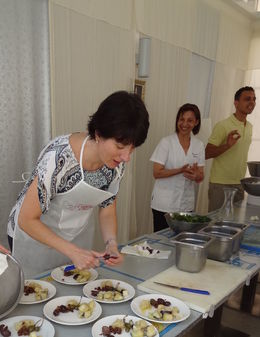 Everyone participates in cooking the meal. , Matthew M - June 2015