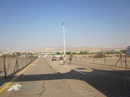 This is what separates Israel from Jordan. , Thurman - August 2012