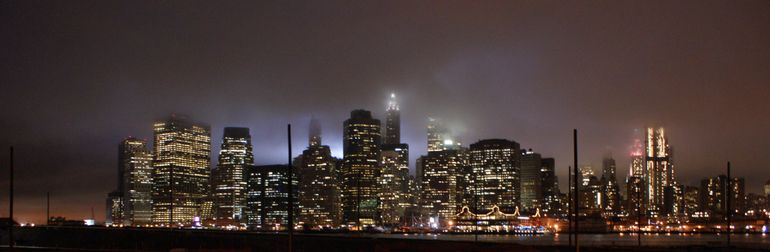 Misty Manhattan - New York City