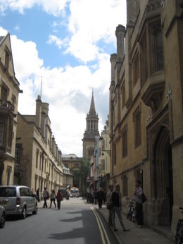 Some of the building of Oxford University. , Christine - July 2012
