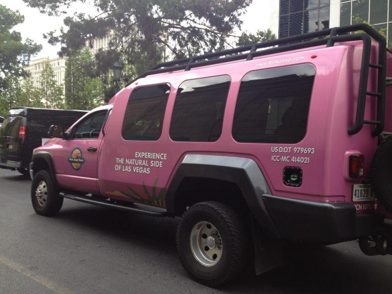 Pink Jeep - Las Vegas