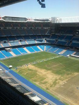 Real Madrid Stadium , Delhys Graziell M - July 2016